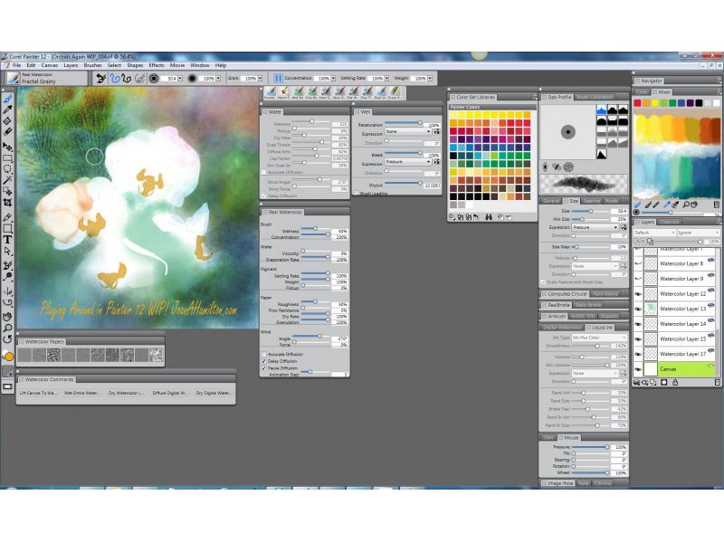 Corel painter 12 rus скачать бесплатно это самая настоящая цифровая професс