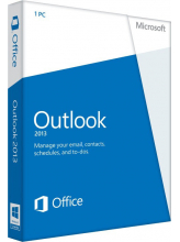 Microsoft Outlook 2013 (English, электронная лицензия)