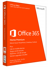 Microsoft Office 365 Home Premium (English коробочная версия)