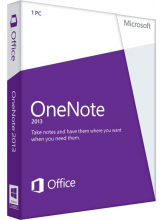 Microsoft OneNote 2013 (English, электронная лицензия)