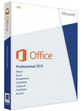 Microsoft Office Professional 2013 (English коробочная версия на DVD)