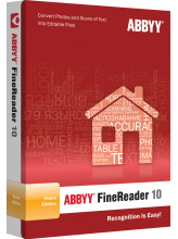 ABBYY FineReader 10 Home Edition (электронная лицензия)