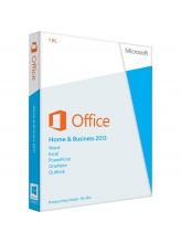 Microsoft Office Home and Business 2013 (English коробочная версия на DVD)
